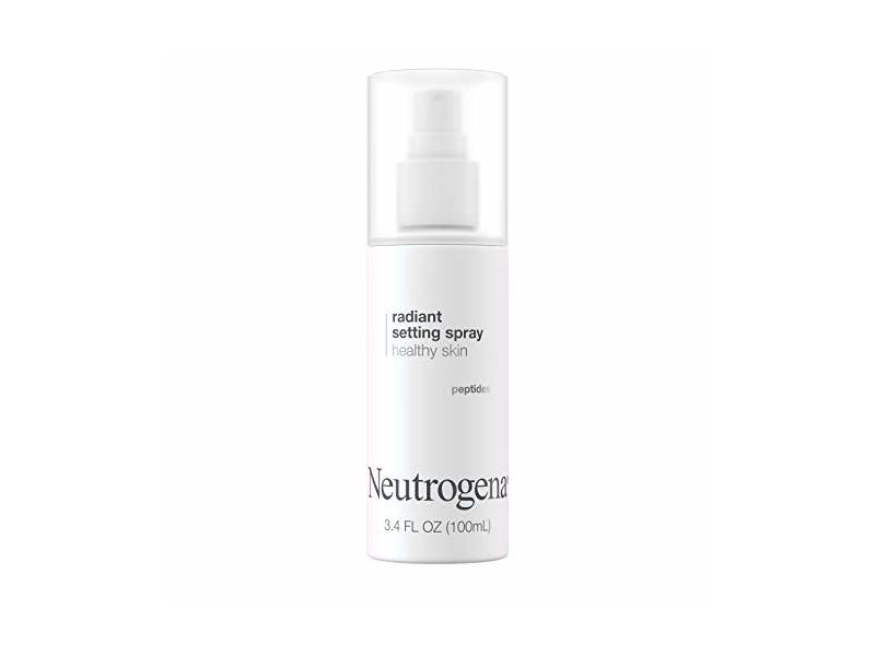 Neutrogena Healthy Skin Radiant Makeup Setting Spray, 3.4 fl oz