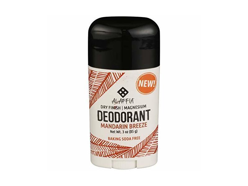 Alaffia, Deodorant Dry Finish Mandarin Breeze, 3 Ounce