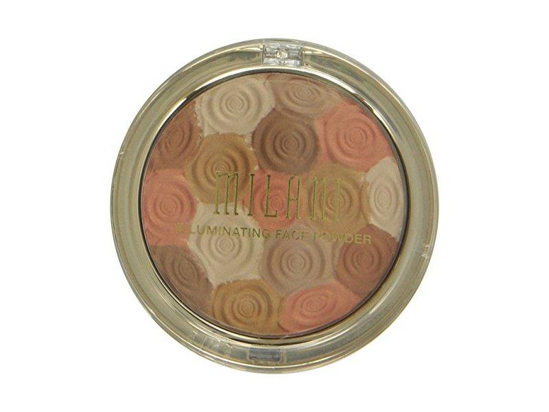 Milani Illuminating Pressed Face Powder, Amber Nectar, 0.35 oz