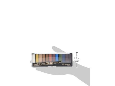 Rimmel Magnif'eyes Eyeshadow Palette, Colour Edition, 0.22 Ounce - Image 7