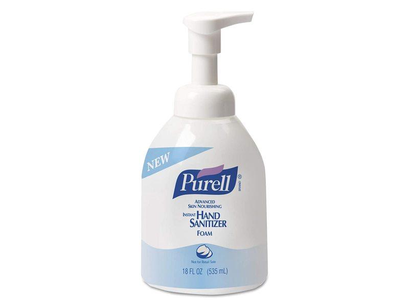 Purell Advanced Hand Sanitizer Skin Nourishing Foam, 18 fl oz/535 mL