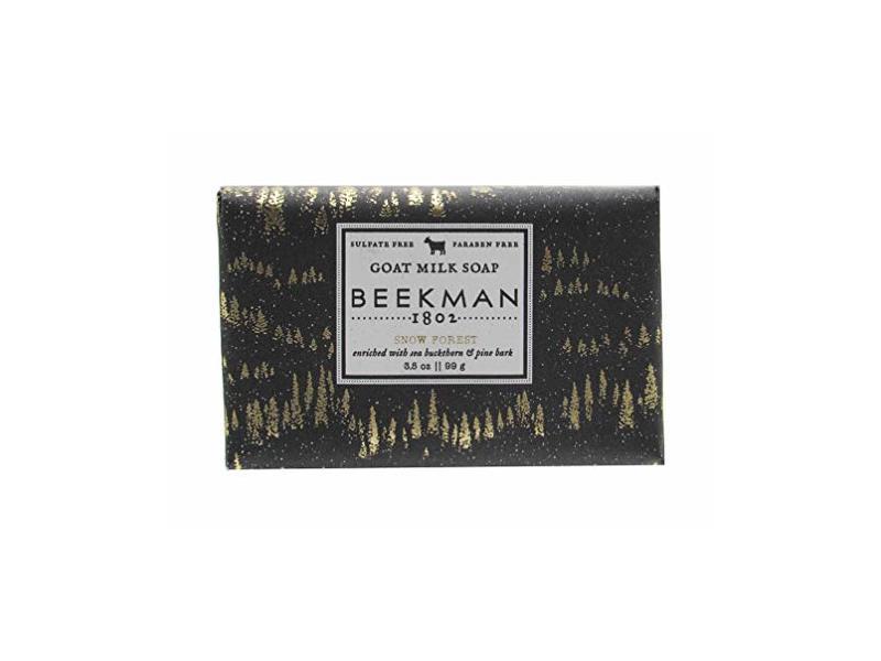 Beekman 1802 Goat Milk Soap, Snow Forest, 3.5 oz