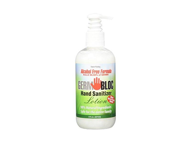 Germ Bloc Hand Sanitizer Lotion, 8 Fluid Ounce