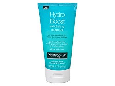 Neutrogena Hydro Boost Exfoliating Cleanser, 5 Ounce