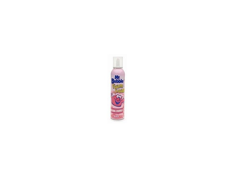 Mr. Bubble Foam Soap, 8 oz