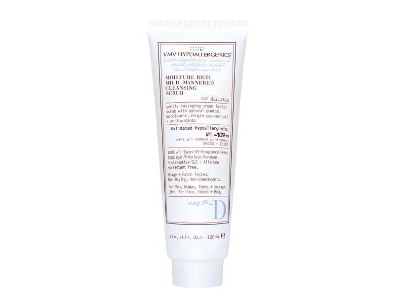 Moisture Rich Mild-Mannered Cleansing Scrub for Dry Skin 120 mL