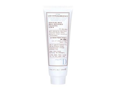 Moisture Rich Mild-Mannered Cleansing Scrub for Dry Skin 120 mL