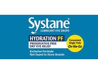Alcon Systane Hydration Preservative-Free Lubricant Eye Drops 30ct Vials, 30 Count - Image 7