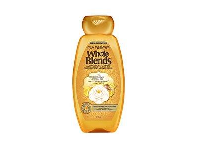 Garnier Hair Care Whole Blends Illuminating Shampoo with Moroccan Argan and Camellia Oils