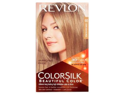 Revlon Colorsilk Hair Color, 60 Dark Ash Blonde, Ammonia Free, Pack Of 6