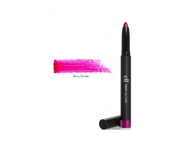 e.l.f. Studio Matte Lip Color, Berry Sorbet, 0.05 oz