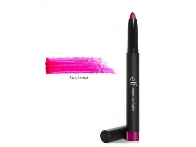 e.l.f. Studio Matte Lip Color, Berry Sorbet, 0.05 oz - Image 1