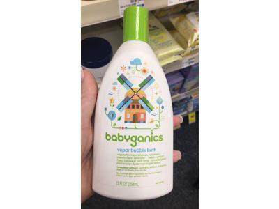 Babyganics Vapor Bubble Bath 12 oz Bottles - Image 3
