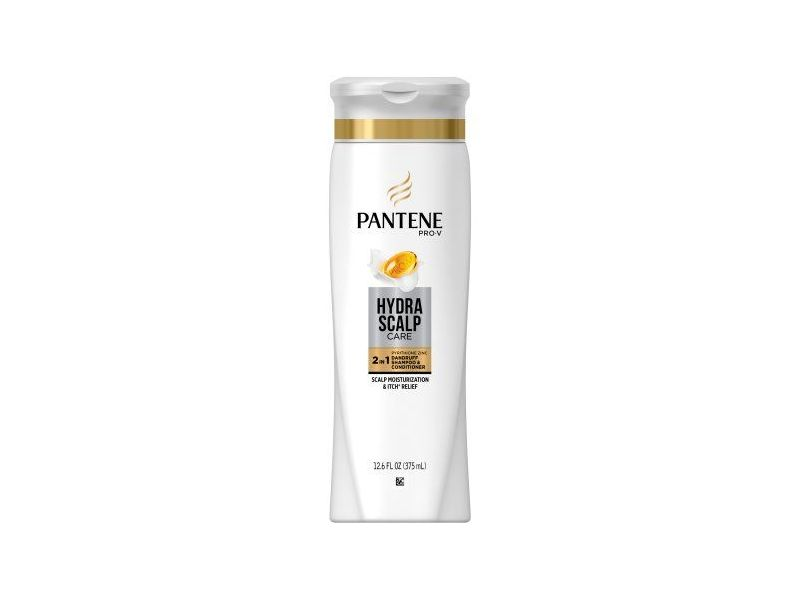 Pantene Pro-V Hydra Scalp Care 2-in-1 Dandruff Shampoo & Conditioner, 12.6 fl oz