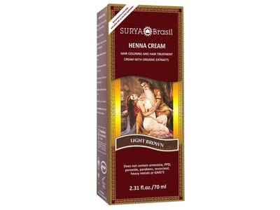 Surya Brasil Henna Cream, Light Brown, 2.31 fl oz