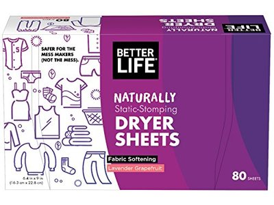 Better Life Dryer Sheets, Lavender Grapefruit, 80 Count, 2422 - Image 1