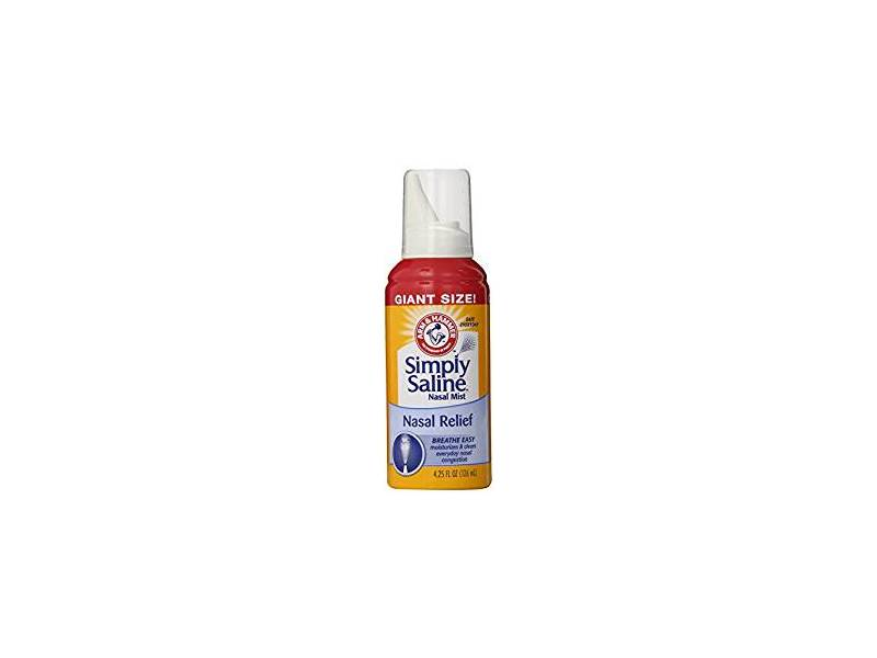 Arm & Hammer Simply Saline Nasal Relief, 4.25 oz