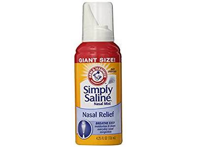 Arm & Hammer Simply Saline Nasal Relief, 4.25 oz - Image 1