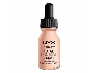 Nyx Professional Makeup Total Control Pro Drop Foundation, Light Porcelain, 0.43 fl oz/13 ml
