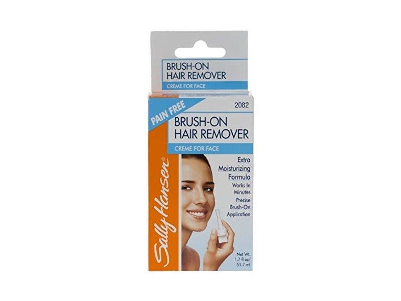 Sally Hansen Brush On Hair Remover For Face, 1.7 oz
