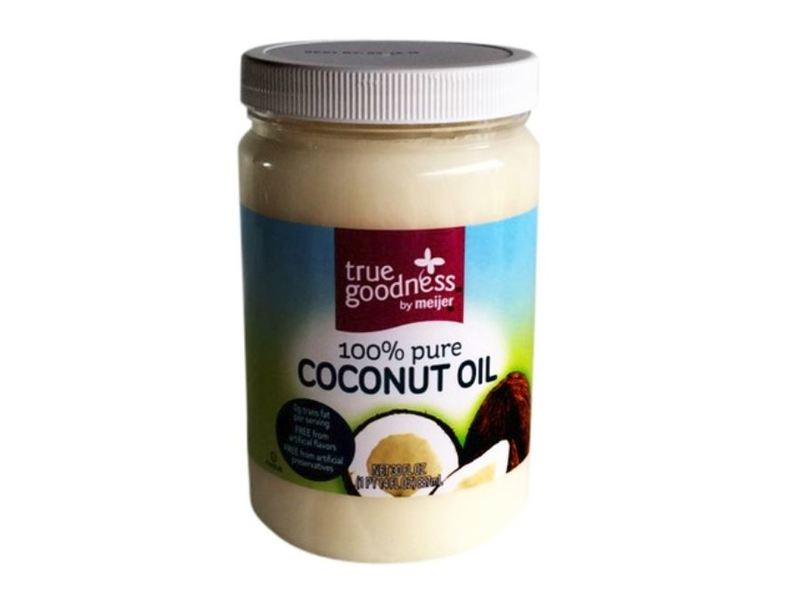 True Goodness By Meijer 100% Pure Coconut Oil, 30 fl oz