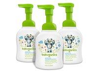 Babyganics Alcohol-Free Foaming Hand Sanitizer, Fragrance Free, 8.45oz Pump Bottle (Pack of 3) - Image 2
