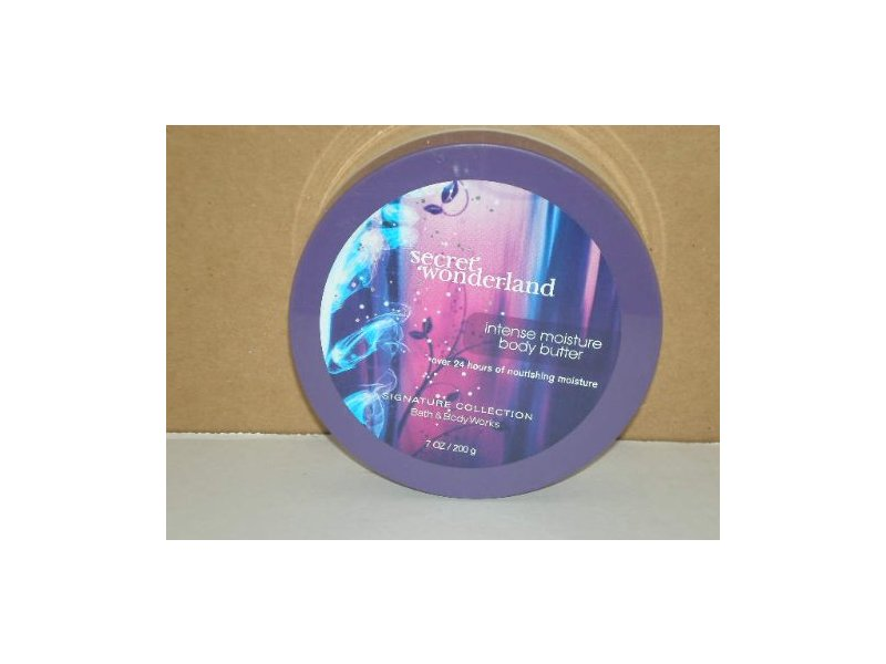 Bath and Body Works Signature Collection Secret Wonderland Body Butter, 7 OZ