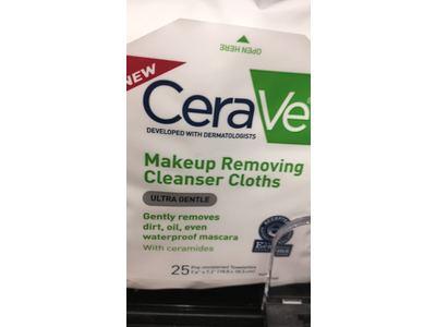 CeraVe Makeup Removing Cleanser Cloths, 25 Count - Image 13