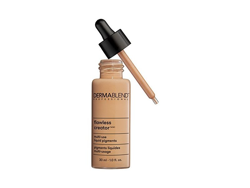 Dermablend Flawless Creator Liquid Foundation Makeup Drops, Oil-Free, Water-Free, 45C, 1 Fl. Oz.