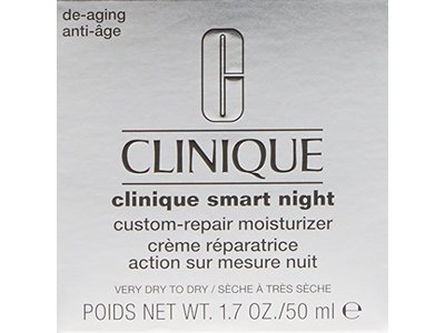 Clinique Smart Night Custom-repair Moisturizer, Very Dry To Dry, 1.7 Ounce - Image 3