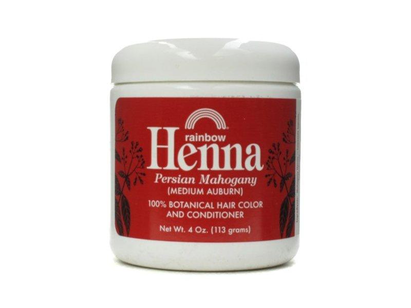 Rainbow Research Henna Hair Color and Conditioner Persian Mahogany Medium Auburn, 4 Ounce