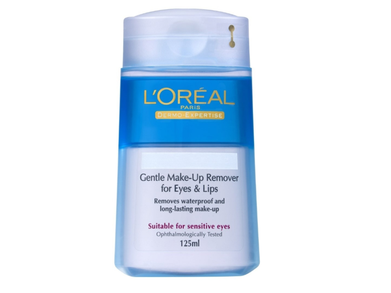 L'Oreal Paris Gentle Eyes And Lips Make-Up Remover, 125 mL