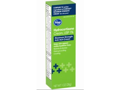 Kroger Hydrocortisone Cream USP 1%, 1 fl oz