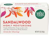 Whole Foods Market Sandalwood Triple Milled Bar Soap, 5 oz - Image 2