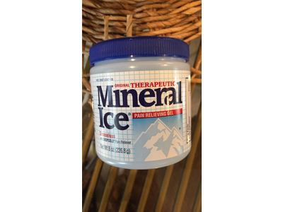 Mineral Ice Pain Relieving Gel, 8 oz - Image 3