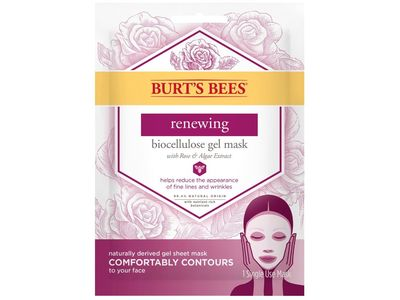 Burt's Bees Renewing Biocellulose Gel Face Mask