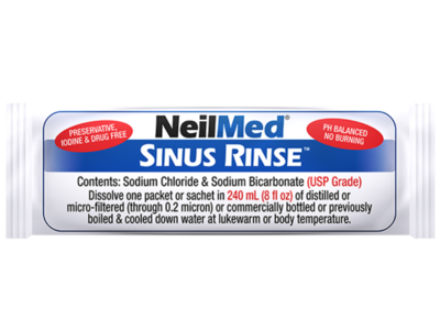 NeilMed Sinus Rinse Premixed Packets, 250 ct - Image 5