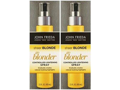 John Frieda Sheer Blonde Go Blonder Controlled Lightening Spray, 3.5 oz
