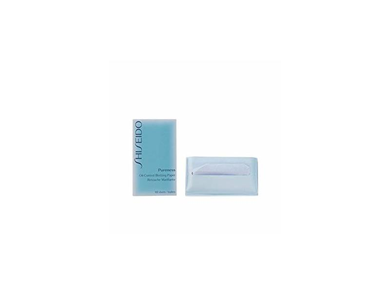 Shiseido Pureness Gentle Oil Control Blotting Paper, 100 Sheets