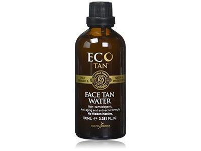 Eco Tan, Organic Face Tan Water Suitable for Oily & Acne-Prone Skin, 3.381 FL. OZ (100 ML)
