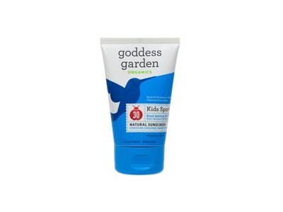 Goddess Garden Sunscreen Kid Sport Tube, 3.4 oz