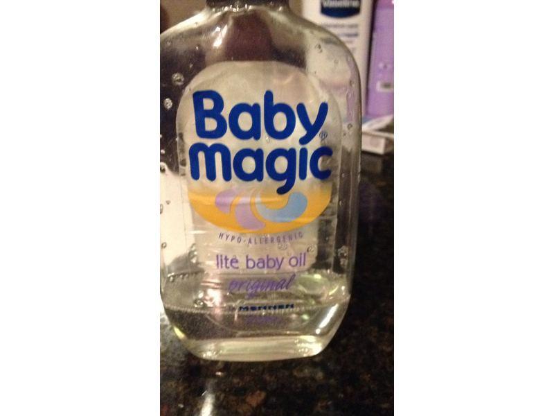 Baby Magic Lite Baby Oil, Original, 16.5 fl oz
