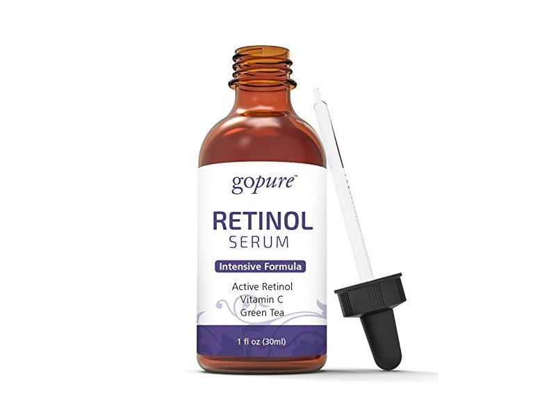 goPure Retinol Face Serum - Anti Aging Retinol Serum with Vitamin E - Anti Wrinkle Facial Serum