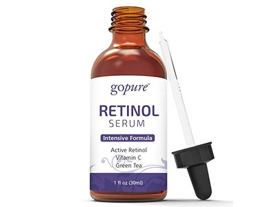 goPure Retinol Face Serum - Anti Aging Retinol Serum with Vitamin E - Anti Wrinkle Facial Serum