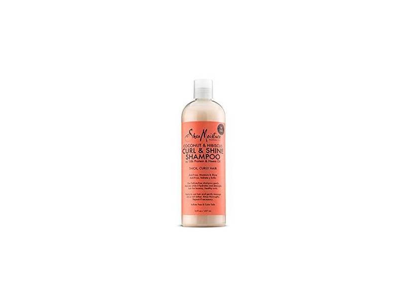 SheaMoisture Coconut & Hibiscus Curl & Shine Shampoo, 16 fl oz