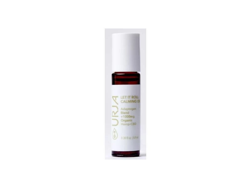 URJA Beauty Let it Roll Calming Oil, 0.30 fl oz/8.9 mL