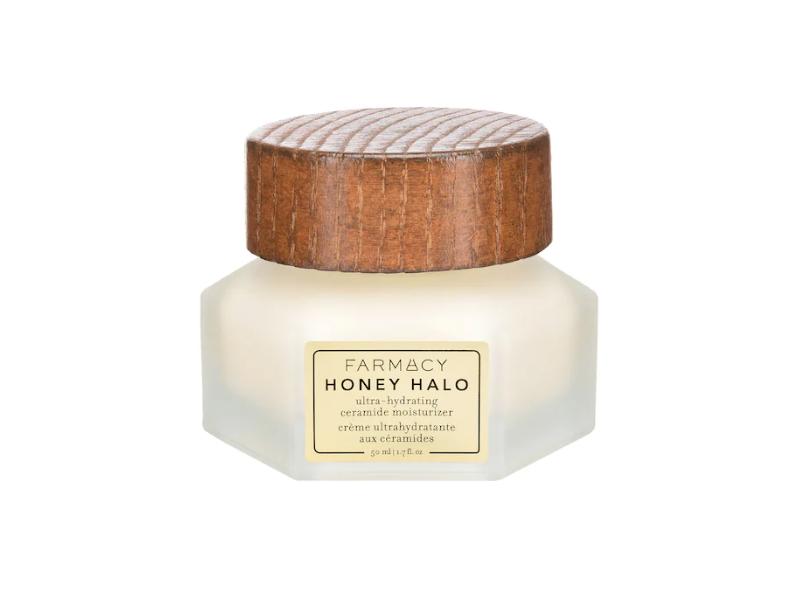 Farmacy Honey Halo Ultra-Hydrating Ceramide Moisturizer, 1.7 fl oz/50 ml