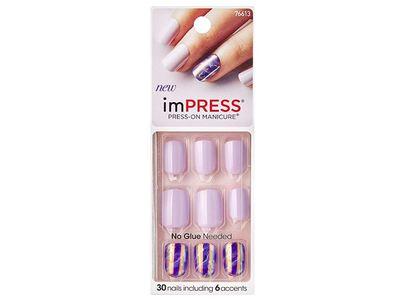 Impress Press-On Manicure Nails, 76613, 30 ct
