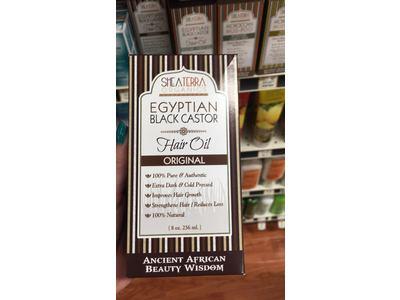 Shea Terra Organics Egyptian Black Castor Cold Pressed Oil, Original