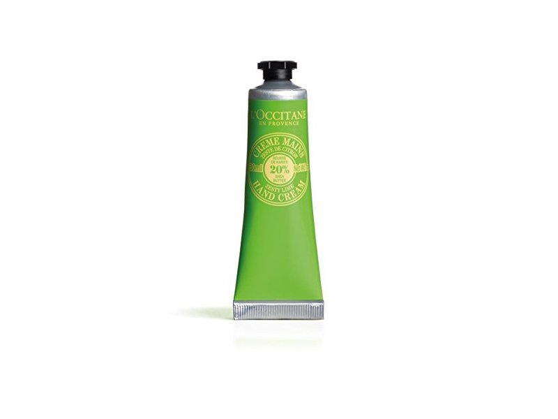 L'Occitane Shea Butter Hand Cream, Zesty Lime, 1 oz